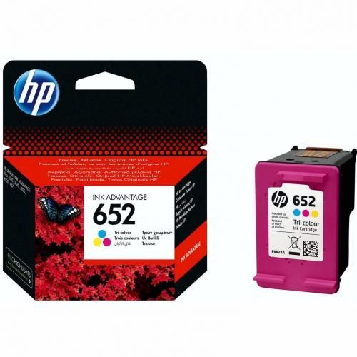 652 Tri-color Ink Advantage Cartridge - F6V24AE