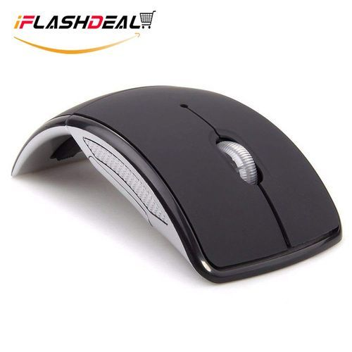 2.4GHz Wireless Folding Mouse Foldable With USB Receiver