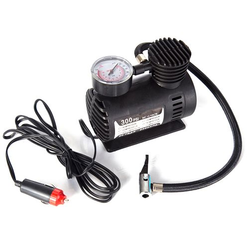 Car Mini Electric Inflation Pump Portable Tyre Air Inflator