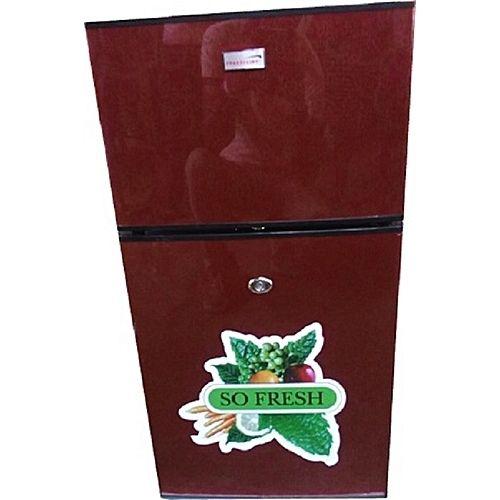 Fridge/Freezer - 138Litres Double Door Table Size Cool Refrigerator - FC138 -Wine