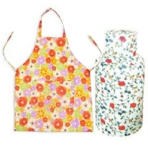 Kitchen Cloth Waterproof Apron Anti-rust Gas Cylinder Cover