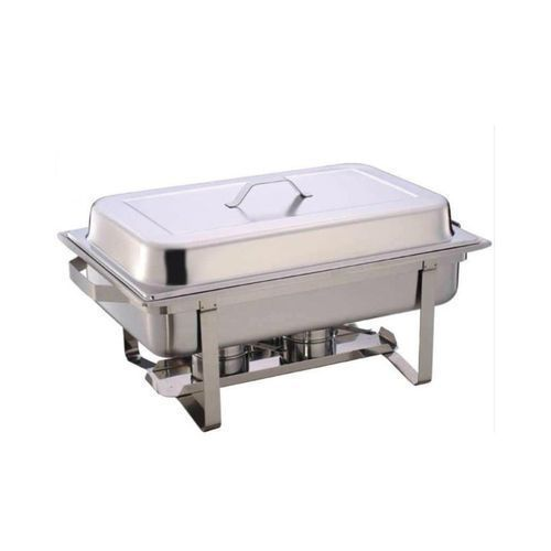 Chaffing Dish 9.6 Litres Large - Silver