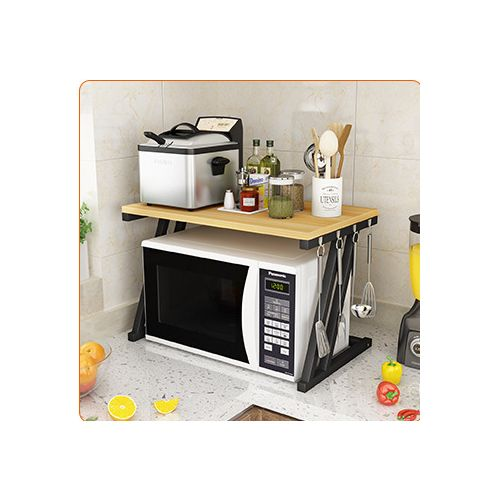 Kitchen Baker Rack Stand Storage Cart Workstation Shelf Aalike