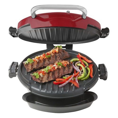 360 Grill Health Grill & Pizza With 2 Removable Plates