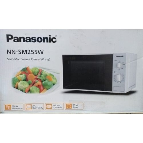 NN-SM255W Microwave Oven - 20 Litre White