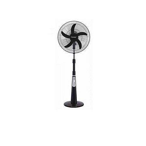 "Century 5 Blade Adjustable 18"" Rechargeable Standing Fan"