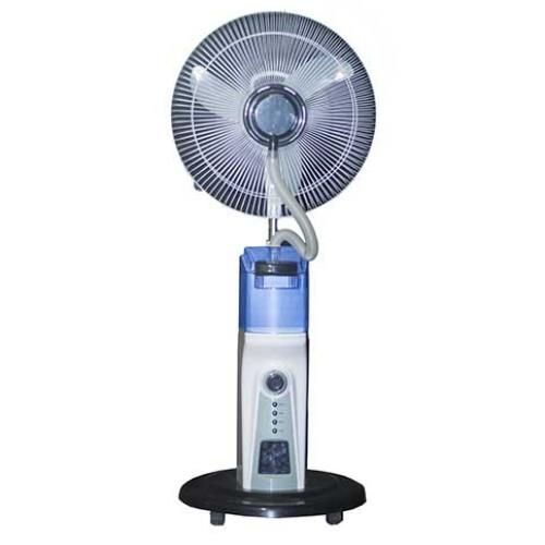 16inch Rechargeable Mist Fan With Remote Control CR-6116R