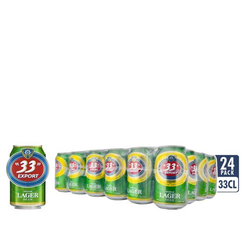 Lager Beer - 33cl Can X 24
