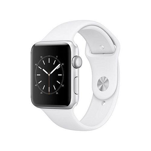 Watch Series 2 42mm Smartwatch (Silver Aluminum Case, White