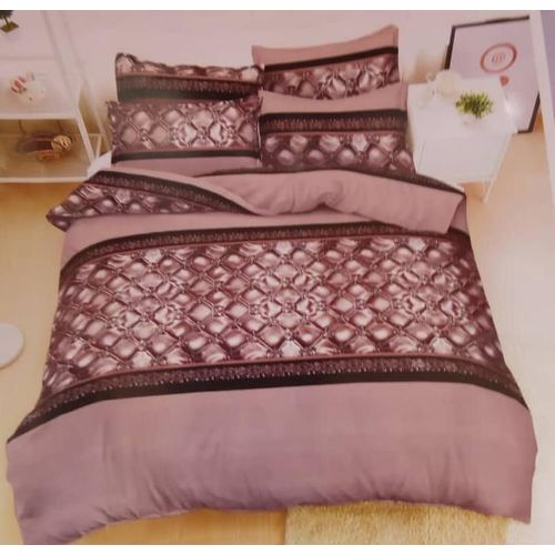 Brown Bedsheet With Pillow Cases