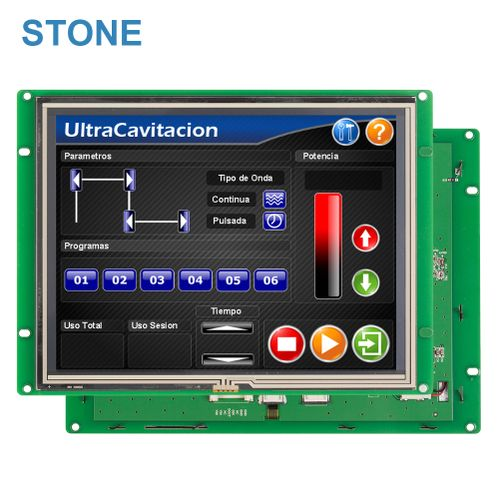 8.0 Inch Resistive Monitor TFT LCD Smart Touch Screen