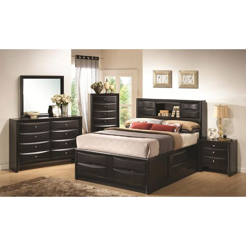 Exotic Functional Bed Set( 6by6/6by7) + Chest Drawer + Side Drawer+Mirror Set