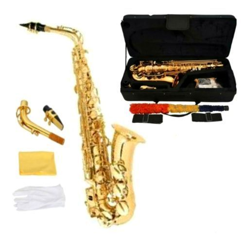 ALTO SAXOPHONE WITH ACCESSORIES & Sax Stand