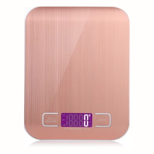 Stainless Steel Digital USB Kitchen Scales 10kg/5kg