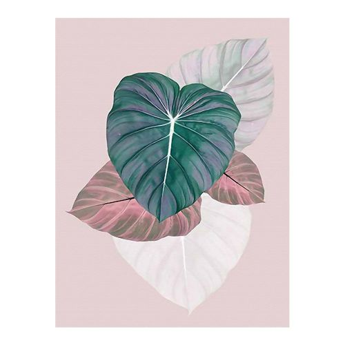Diy Diamonds Full Of Leaf P303 Embroidered Fashion