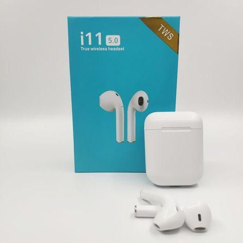 I19 TWS Wireless Bluetooth 5.0 Earphone Touch Control Headset Automatic Connection Earbuds For IPhone Xiaomi Pk I11 I12 I7 Tws LANG(#i11twstouch)