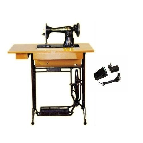 Sewing Machine Head With Stand+ Electric Motor For Automatic Operations