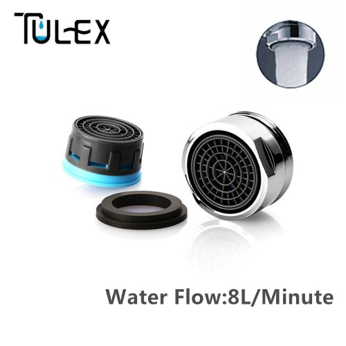 Water Saving Faucet Aerator 24MM Male Thread 4L/Min Spout Bubbler Tap Filter Crane Nozzle Attachment Accessories HLI