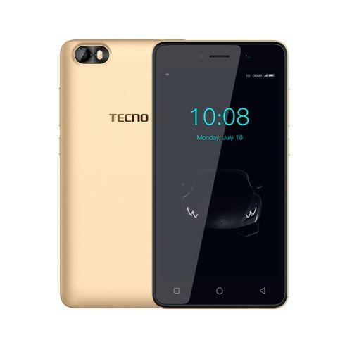 F1 5-Inch (1GB, 8GB ROM) Android 8 Oreo (Go Edition), 5MP + 2MP Dual SIM 3G Smartphone - Gold