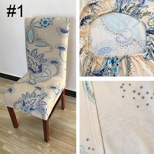 1Pcs Stretch Dining Chair Cover Washable Removable Slipcover Dinning Cover