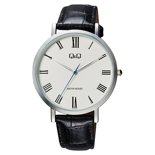 Gents Smart Casual Leather Strap Watch - QA20J307Y