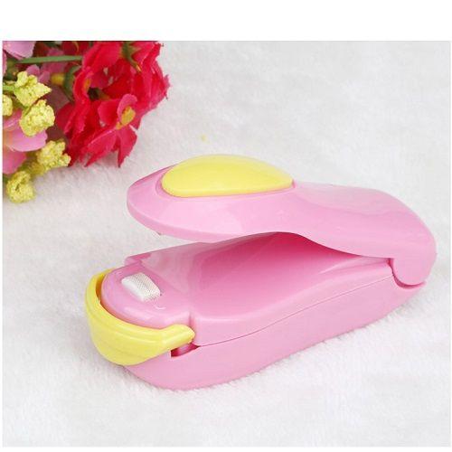 Portable Mini Heat Sealing Machine Plastic Bag Smart Sealer Machine Resealer Clip Clamps For Bags Kitchen Gadget