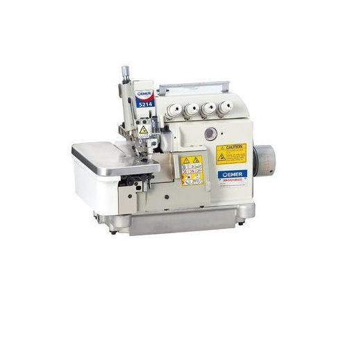 5-thread Industrial Overlock Sewing Machine 757 With Automatic Lubrication