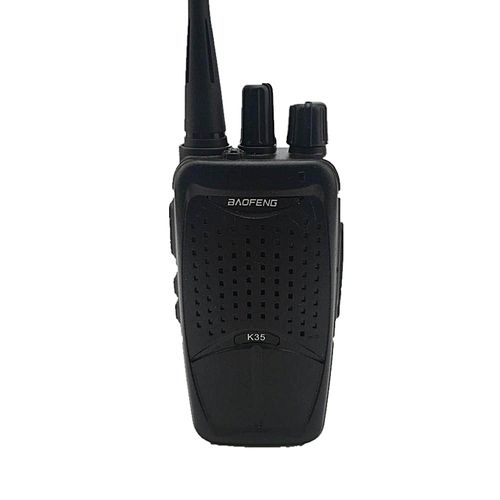 HT BAOFENG K35 400-470MHz 16Ch Mini Two-way Radio Walkie Talkie Rechargeble Black EU PLUG
