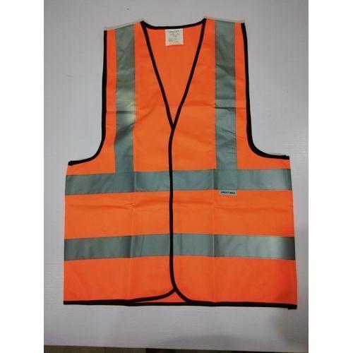 Reflective Safety Vest - Orange.