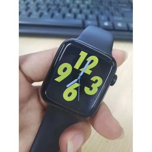 W26 Smart Watch Fitness Tracker Bluetooth Call Black Strap
