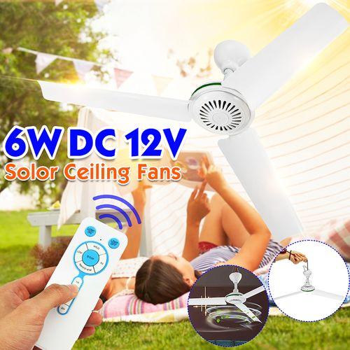 Portable 12V DC Ceiling Fan 3 Blade 0.7AMP HQ Caravan