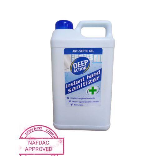 Anti-Septic Gel Instant Hand Sanitizer 4000ml