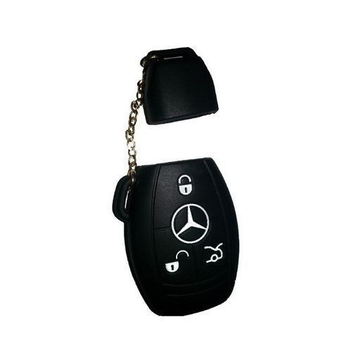 3/4 Button Silicone Remote Key Cover Holder Case For MERCEDES BENZ 350 550