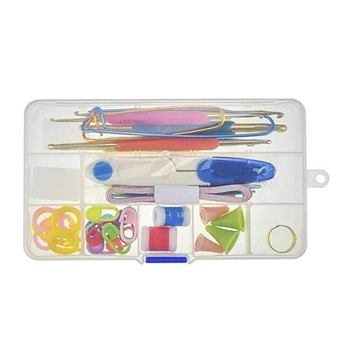 Basic Knitting Tools Crochet Sewer Starter Kit Knitting Tools Accessories Supplies Markers Unpicker Crochet Starter Kit With Practical Case