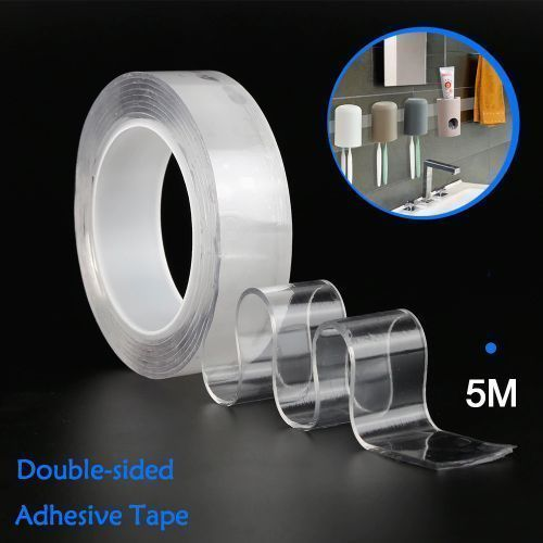 Strong Double Sided Nano Reuseable Magic Adhesive Tape
