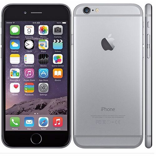 IPhone 6 4.7 Inch 1GB + 32GB 8MP + 1.2MP Finger Sensor 4G LTE Smartphone (Free Gift) – Grey