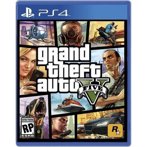 Playstaion 4 Games Grand Theft Auto - GTA V
