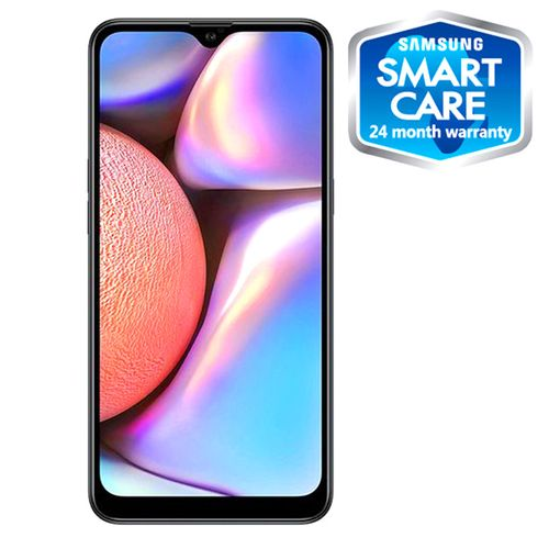 Galaxy A10s 6.2-Inch (2GB,32GB ROM) Android 9.0, (13MP+2MP)+ 8MP Dual SIM 4000mAh 4G LTE Smartphone - Black (BF19)