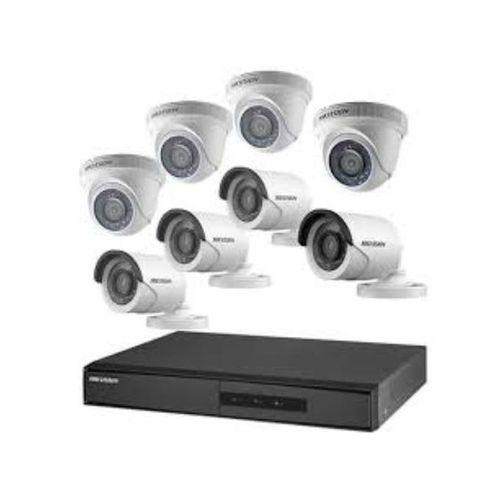 8 Channels DVR CCTV, 4 Indoor + 4 Outdoor Camera + One