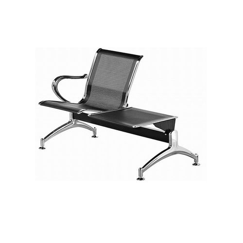 2 Seater Stainless Steel Waiting Chair (Delivery Within Lagos Only)