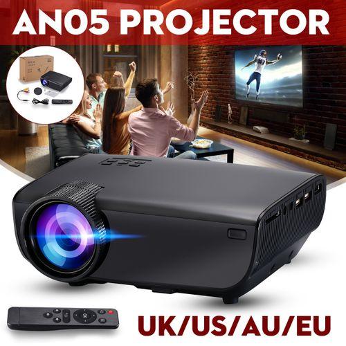 Full HD 1080P LED Projector Home Theater Wireless Display Multimedia USB AV