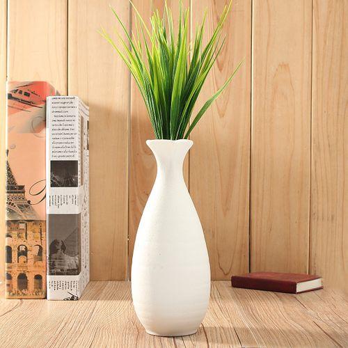 12'' Artificial Plastic Green Grass Plant Flowers Home Garden Xmas Decor