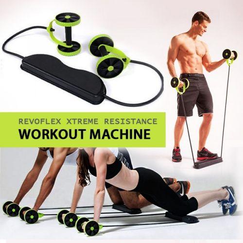 Resistance Workout Abs Trainer Machine