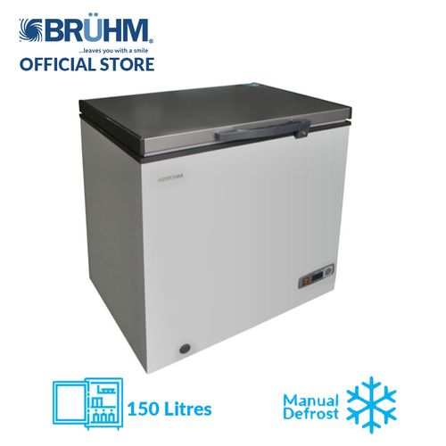 150-Litre Glory Series Chest Freezer BCF-SD150F - Silver