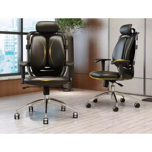 Executive Kidney Shaped Office Chair(1Pcs)