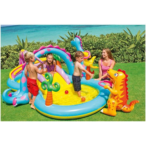 Dinoland Inflatable Paddling Pool Play Center
