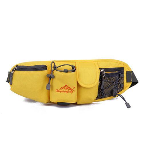 Portable Multifunction Bottle Carrier Portable Outdoor Waist Bag Sports Pack Bag Storage Phone Bag