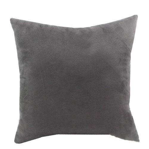 Mohap Set Of 2- Gray Pillowcases 65X65Cm Pillowcase With Microfibre Zipper Gray