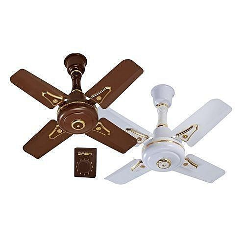 "Super 24"" Ceiling Fan Low Noise,with High 5 Speed Control"