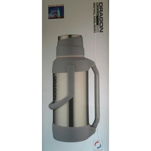 STAINLESS STEEL HOT OR COLD WATER FLASK - 3.2BLTRS